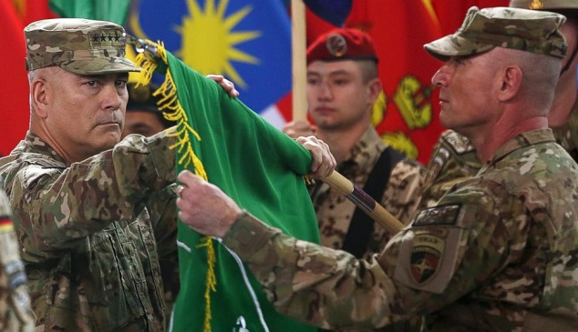 US, NATO mark end of Afghan combat mission after 13 years