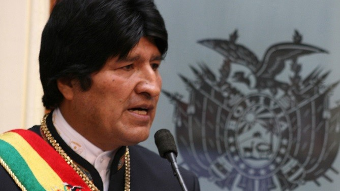 Bolivian President Evo Morales accuses US for current drop in oil prices
