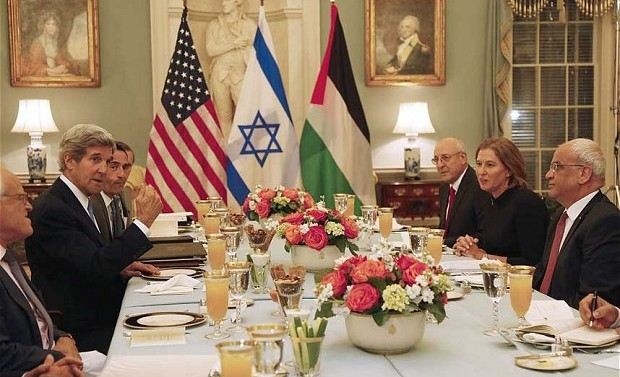 2014 frustrates US hopes for Israeli-Palestinian peace
