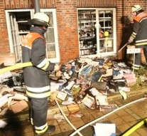 Arsonists attack German newspaper office