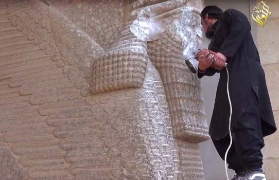 ISIS-destroying-ancient-city