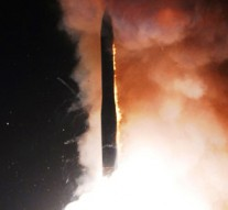 US Air Force test-fires intercontinental ballistic missile
