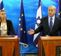 EU to continue MidEast peace process despite Israel's suspension of ties