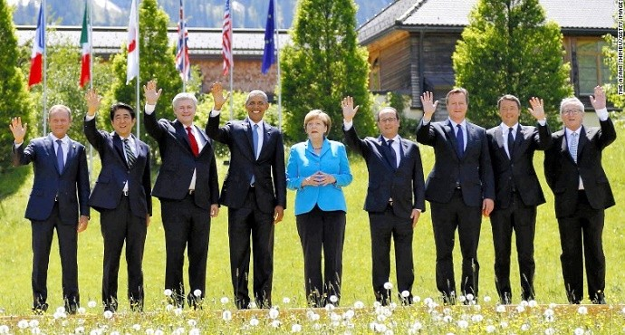 G7 Summit 2015: Protests, climate change and few commitments