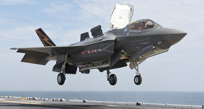 Most F-35 jets back in the air after fuel tube issue