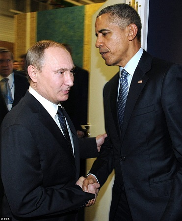 Obama met Putin on the sidelines of the Paris Climate summit to discuss the Syrian crisis