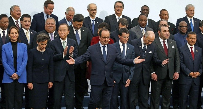 Some 150 world leaders gather at climate summit in Paris