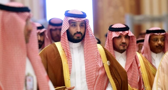 Saudi Deputy Crown Prince and Defense Minister Mohammed bin Salman announced a new Islamic coalition to combat terrorism on 15 Dec. 2015 in Riyadh.