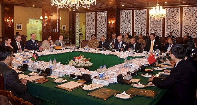Afghanistan, China, Pakistan and US discuss Afghan Peace Process