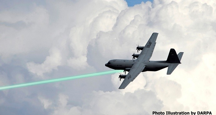 Laser weapons for fighters, drones ready for use