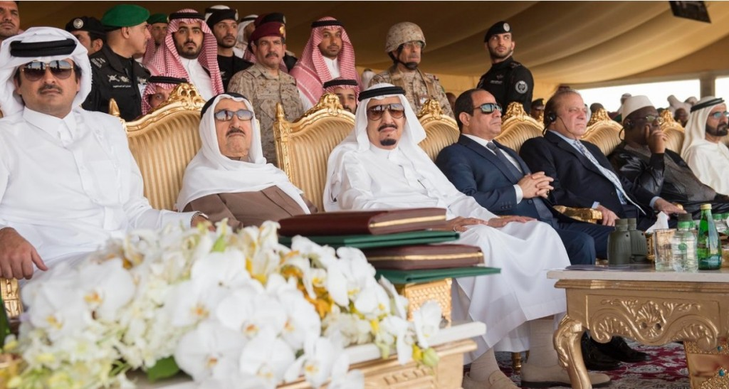 The closing maneuver of North Thunder military exercise was attended by a number of presidents, princes, ministers, ambassadors from all 20 particpating countries