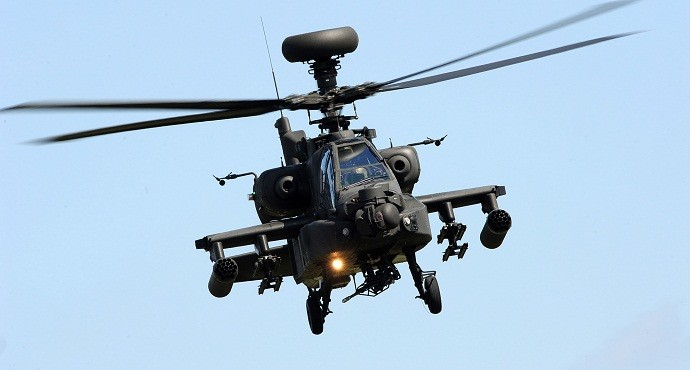 Boeing gets $3.4B Apache contract from U.S. Army and Saudi Arabia