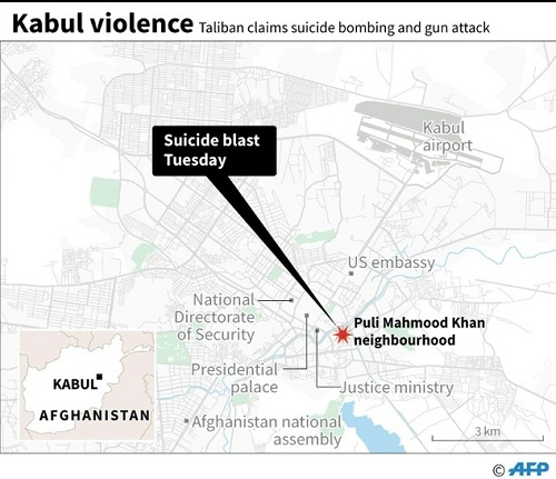 Dozens killed, hundreds injured in Kabul suicide attack on 19 April 2016