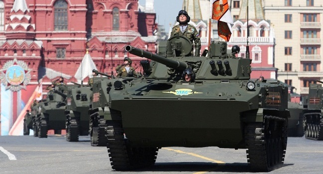 Putin calls for global security system as Russia marks 'Victory Day'