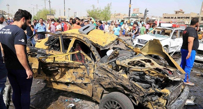 At least 200 killed in one week as deadly wave of bombings hit Baghdad
