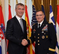 New NATO military chief takes command, vows tough line on Russia