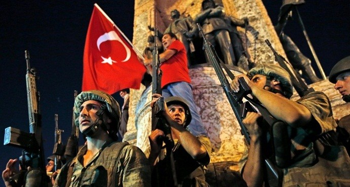 Turkey's coup attempt crushed as 260 died and 2,800 detained