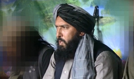 File photo of Hafiz Sayed Khan - ISIS leader in Afghanistan