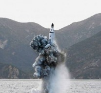 North Korea test fires underwater ballistic missile