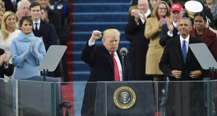 Trump vows to put 'America first' as he becomes 45th President of the United States