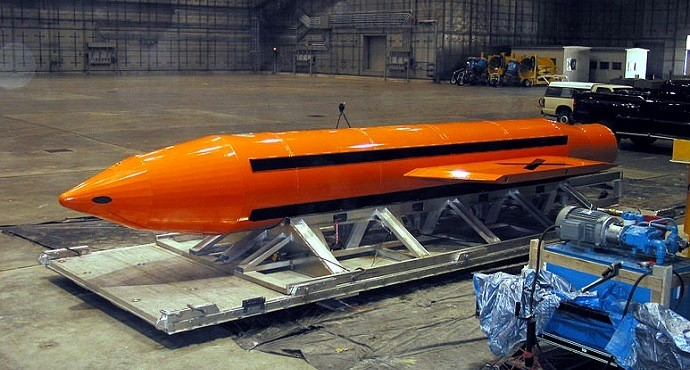 US drops largest non-nuclear bomb ever on Afghanistan
