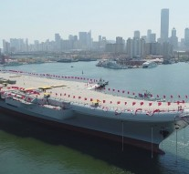 China launches first self-built aircraft carrier