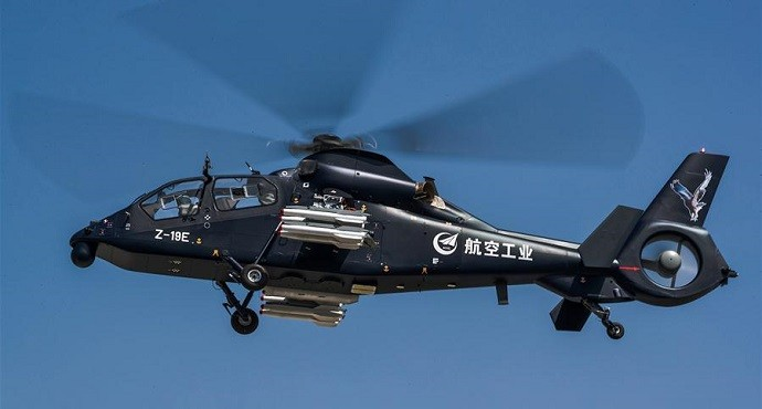 China eyes global defense market with new helicopter