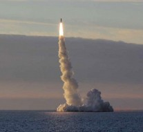 Russia test-fires submarine-launched missile