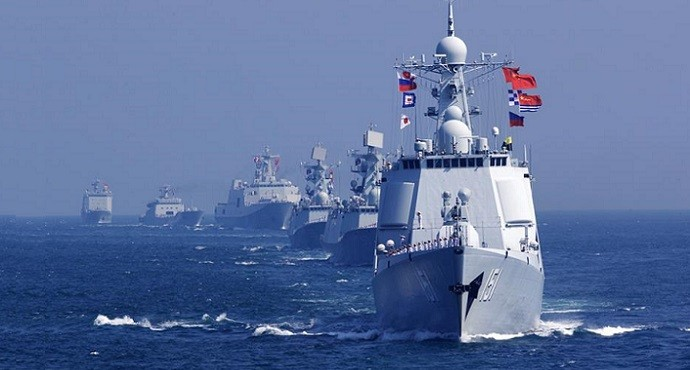 China and Russia launch first joint naval drill in Baltic Sea
