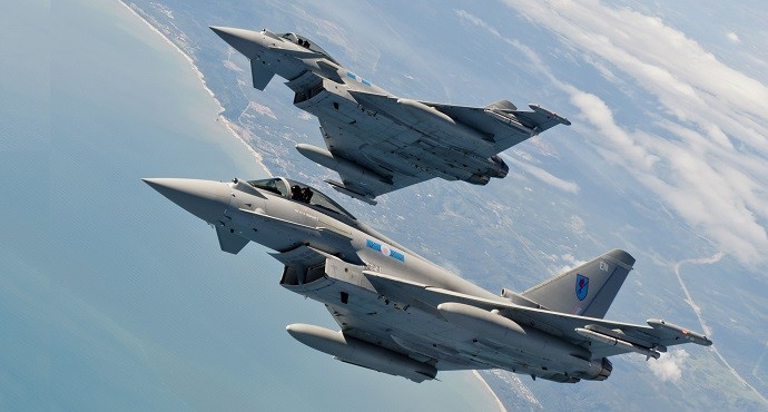 Qatar signs $8bn Typhoon fighter jet deal with UK