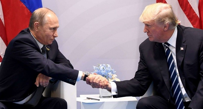 Putin and Trump discuss Syria, Ukraine and cyber security