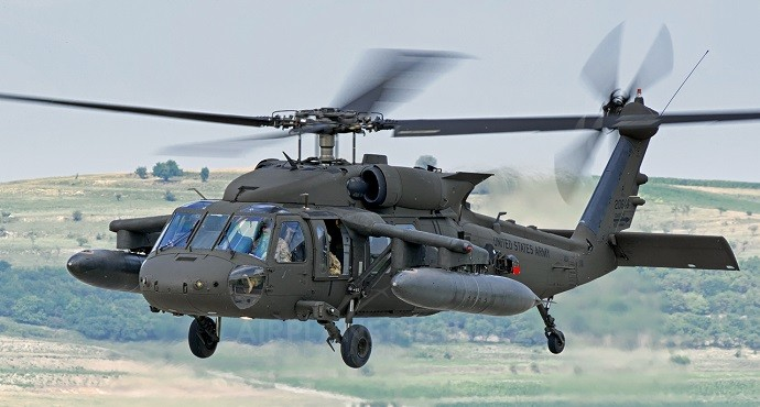 Slovak Air Force receives first two Black Hawk helicopters