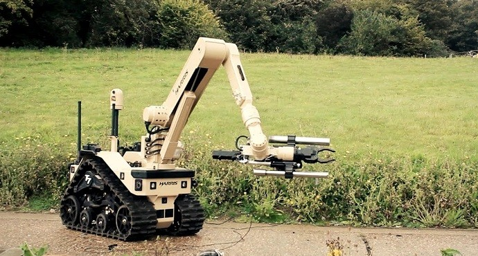 UK signs $70 million contract with Harris for bomb-disposal robots