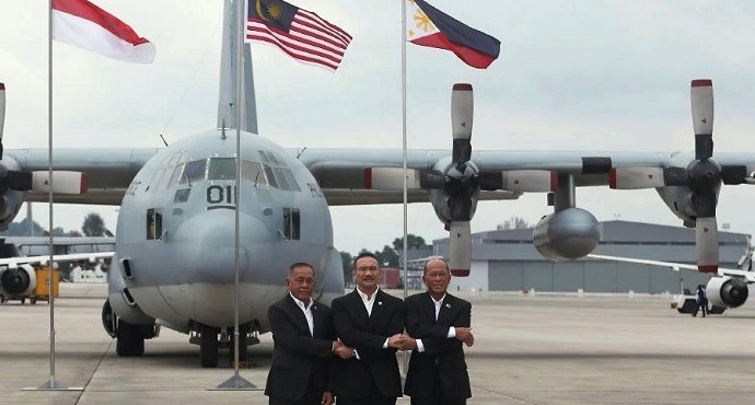 Malaysia, Indonesia, Philippines launch joint air patrols