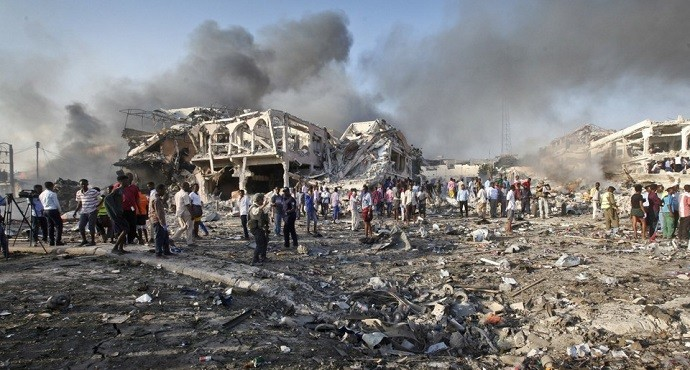 More than 230 killed in Somalia's worst-ever bomb attack