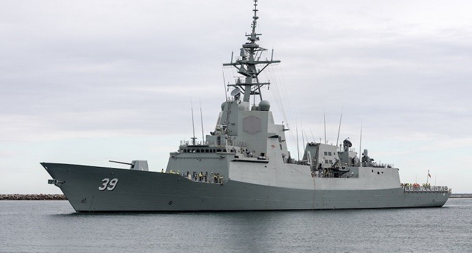 Australian warships get Raytheon anti-air warfare system