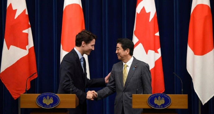 Canada and Japan sign military cooperation pact