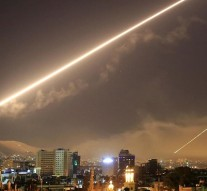 US, UK and France launch Syria strikes targeting chemical weapons sites