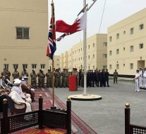 Britain opens Gulf military base in Bahrain
