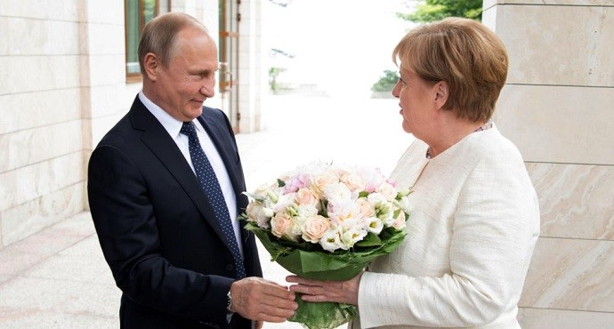 Russia, Germany struggle to seek common approach