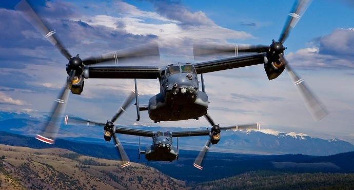 Rolls-Royce to provide V-22 Osprey engines to U.S. military