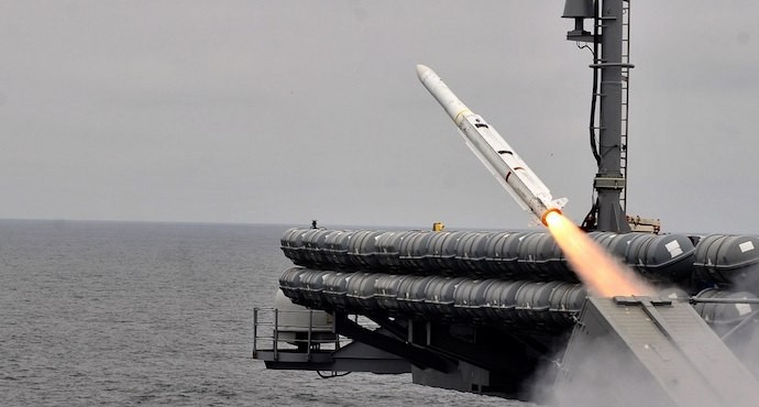NATO tests upgraded Sea Sparrow missile