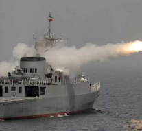 Iran fires anti-ship missile during naval drills