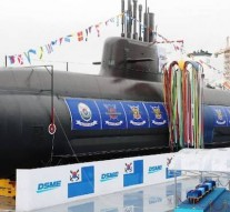 South Korea launches first missile-capable submarine