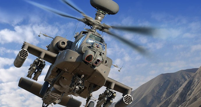 U.A.E. to buy 17 new Apache AH-64E helicopters
