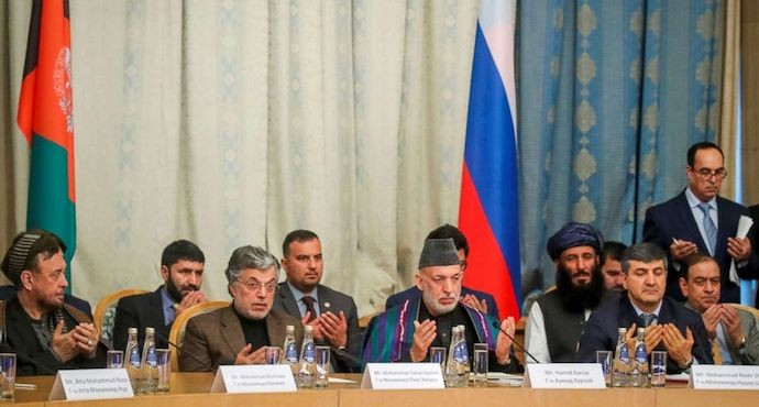 Taliban and Afghan leaders find common ground in Moscow talks