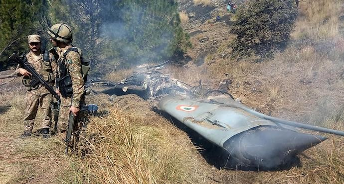 Pakistan shoots down two Indian fighter jets as tensions escalate