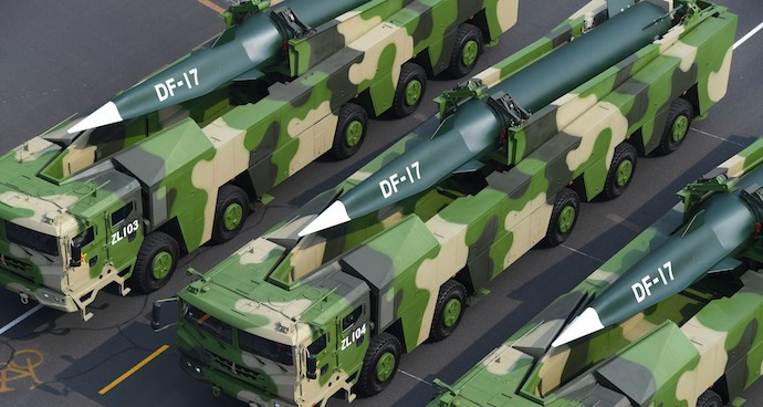 China unveils hypersonic nuclear missile, new tech at military parade