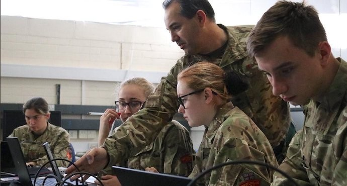 British Army cadets attend cybersecurity course