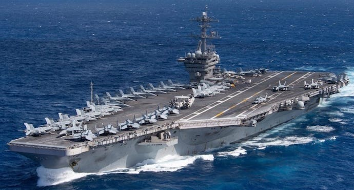US Navy Captain pleads for help as aircraft carrier hit by coronavirus outbreak